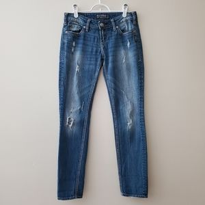 Aiko Skinny Silver Jeans